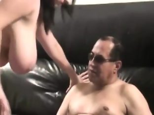 Mature latino pornstar playing with his big cock