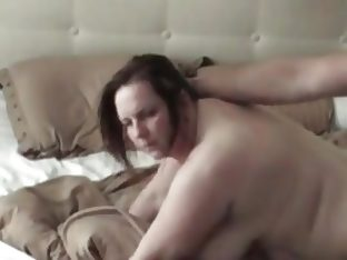 Dutch slut doggie and cummed