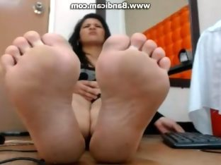 Webcam meaty soles
